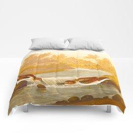 Little Sandpiper Bird Comforters