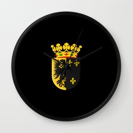 Coat of arms of Workum Wall Clock