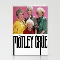 golden girls Stationery Cards featuring Golden Girls! Girls! Girls! by hellosailortees