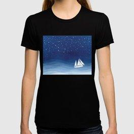 big dipper, sailboat T-shirt