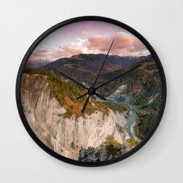 Ruinaulta Wall Clock