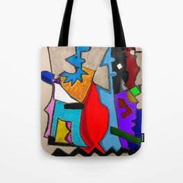 Abstract Dailey 451 Tote Bag