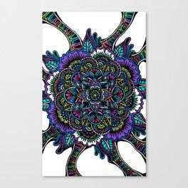 Original Cover Mandala Canvas Print