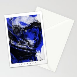 Interstellar - Movie Inspired Art Stationery Cards