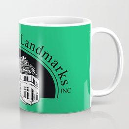 New London Landmarks Logo (green) Coffee Mug