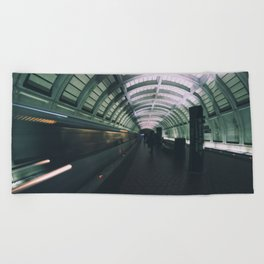 Morning Commute Beach Towel