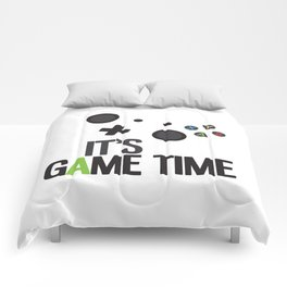 It's Game Time Comforters