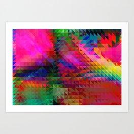 PINK RAINBOW Art Print