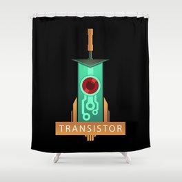 Transistor [2] Shower Curtain