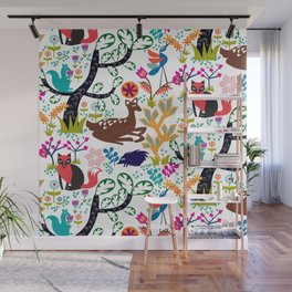 Forest Fairytale Wall Mural
