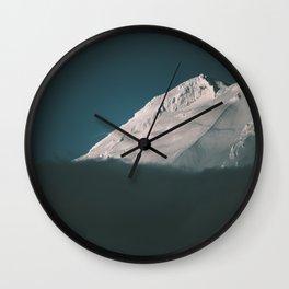 Mount Adams II Wall Clock