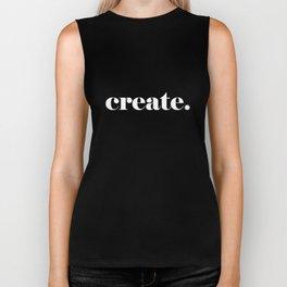 Create. Biker Tank