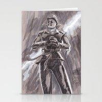 rorschach Stationery Cards featuring Rorschach  by Matthew Sutton Art