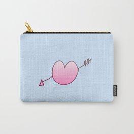 Heart pierced by an arrow 4 Carry-All Pouch
