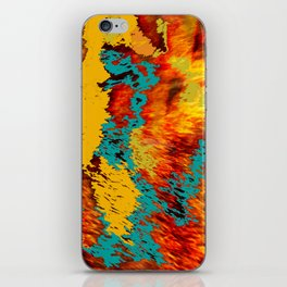 Abstract Fur Kaleidoscope iPhone Skin