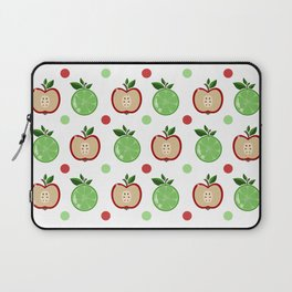 Apples and Lime Laptop Sleeve