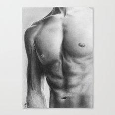 Man of Steel Canvas Print