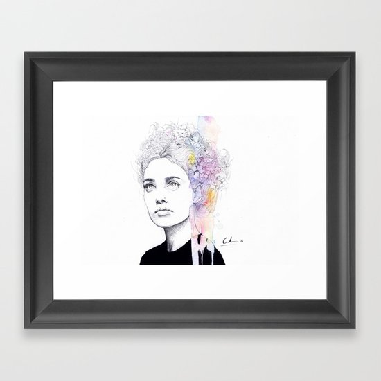 soft springtime Framed Art Print