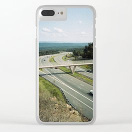 Interstate 68 2 Clear iPhone Case