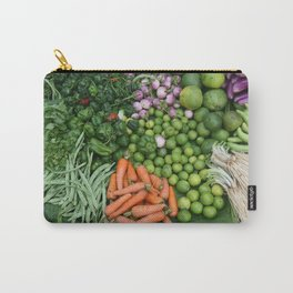Asia vegetables on market #society6 #vegetables Carry-All Pouch