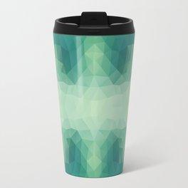 Mozaic design in soft green colors Travel Mug