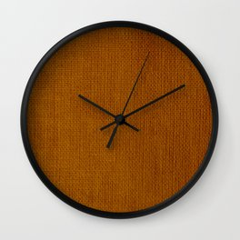 Fabric Texture Surface 37 Wall Clock
