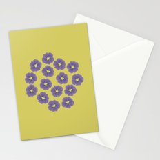 Bunch of Violets Stationery Cards