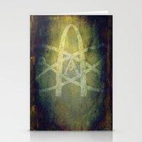 atheist Stationery Cards featuring Atheist by Schweí Übersteigen
