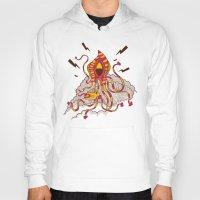 kraken Hoodies featuring Kraken! by Popnyville