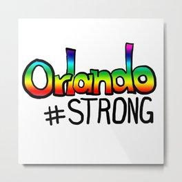 Orlando #strong Metal Print