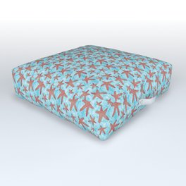 Star Spangled Sea Outdoor Floor Cushion