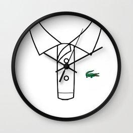 La Coste white Wall Clock