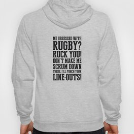 Staricons rugby typo series - Obsession Hoody