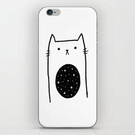 Galaxy Kitty iPhone Skin