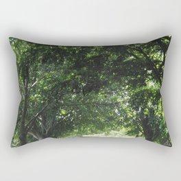 Beautiful Summer Road Rectangular Pillow