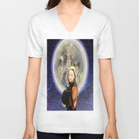 hocus pocus V-neck T-shirts featuring Hocus Pocus by grapeloverarts