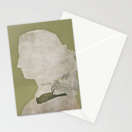 Anne Brontë Agnes Grey - Minimalist literary design Stationery Cards