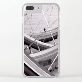 Tires Clear iPhone Case