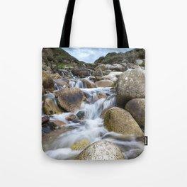 Stream Into Porth Nanven Tote Bag