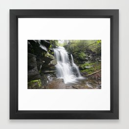 Ricketts Glen Framed Art Print