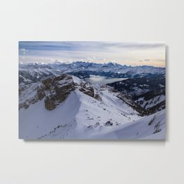 Looking out to the Mountains.. Metal Print