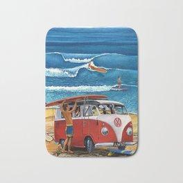combi van surf Bath Mat