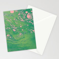 Green Dreams Stationery Cards