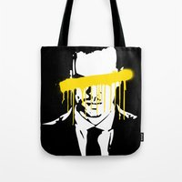 moriarty Tote Bags featuring Moriarty by tillieke