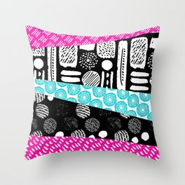 Pattern Mix Throw Pillow