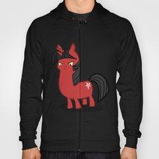 My small sized satanic duplicorn horse Hoody