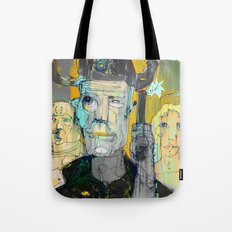The Good, The Bald & The Ugly Tote Bag