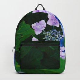 Beautiful Purple Hydrangeas Backpack