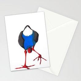 Kooky Pukeko 3/4 Stationery Cards