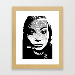 Fight for Her Framed Art Print